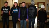 Les élèves de l'atelier « Photographie en délire » ont réalisé un vidéo en stop motion.