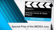La vidéo présentant les finalistes et les gagnants du concours MEDEA AWARDS 2013. Superbe récompense pour notre école!
