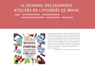 Le journal des ateliers 2015