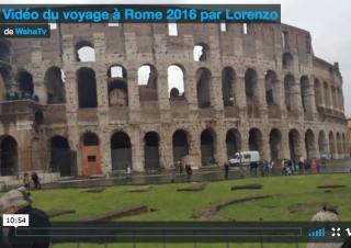 Voyage à Rome 2016 par Lorenzo